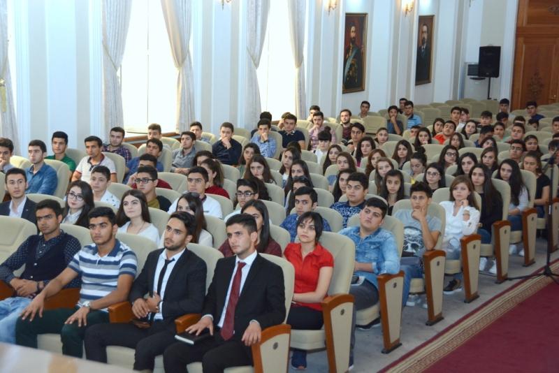 UNEC – Azərbaycan Dövlət İqtisad Universiteti — Meeting with the