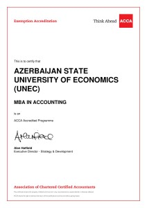 MBA in Accounting - Exemptions Certificate-1