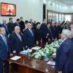 UNEC-də tanınmış ictimai xadim, professor Qaçay Heydərovun 100 illik yubileyi qeyd olunub